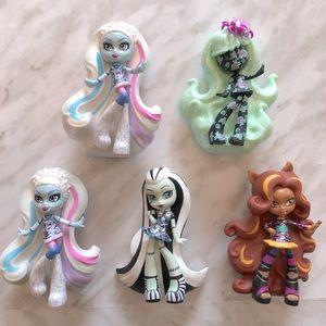 Monster High Vinyl Figures Bundle